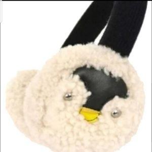 New Coach Penguin Earmuffs & Keychain Set